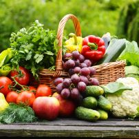 fresh fruit and veggies