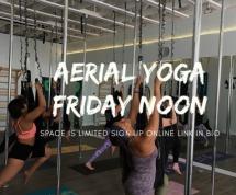 Aerial Yoga Social Media